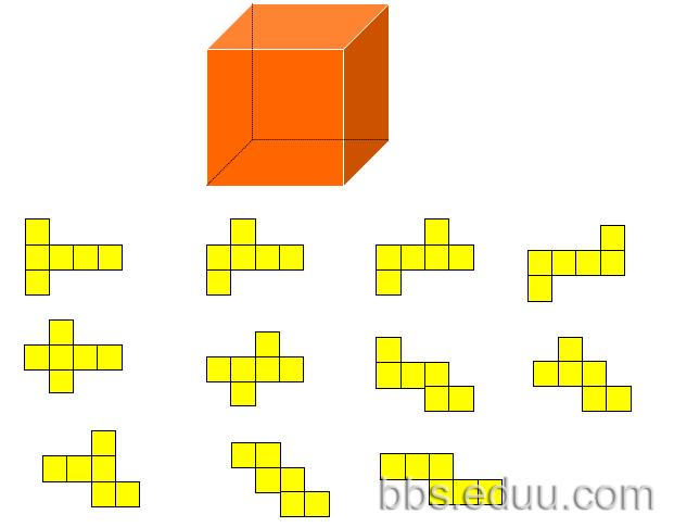 介绍关于立体图形以及展开图